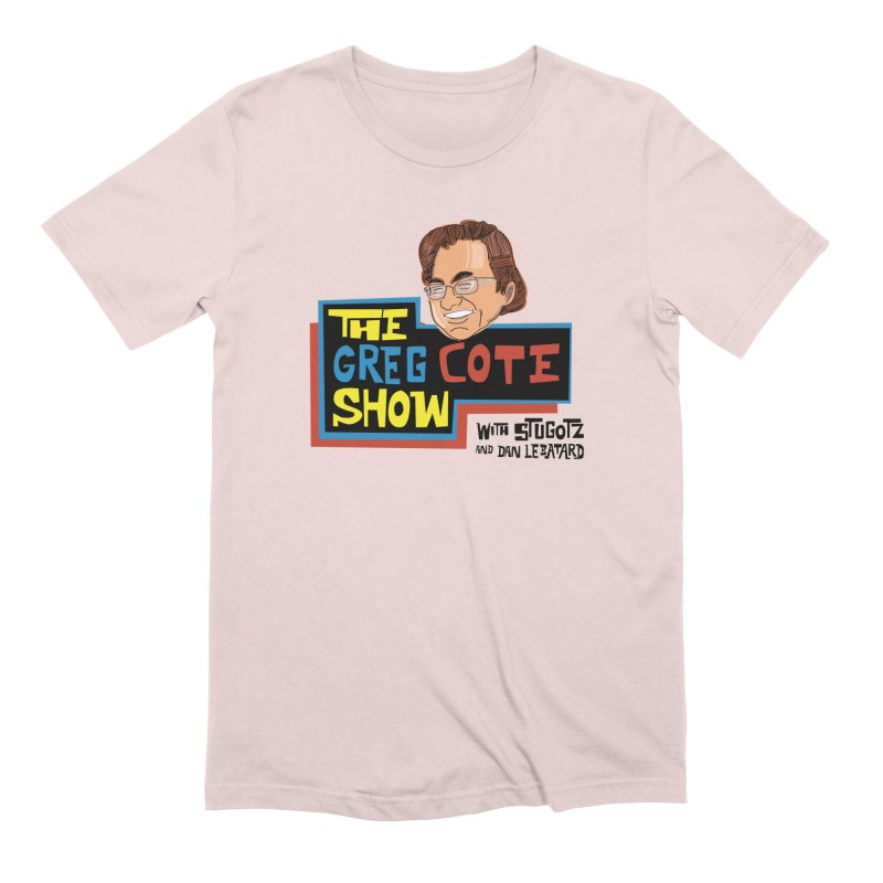 Greg Cote Show Men's Extra Soft T-Shirt by The Official Dan Le Batard Show Merch Store