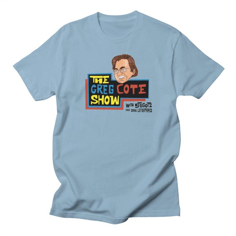 Greg Cote Show Men's Regular T-Shirt by The Official Dan Le Batard Show Merch Store