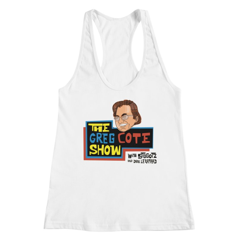 Greg Cote Show Women's Racerback Tank by The Official Dan Le Batard Show Merch Store