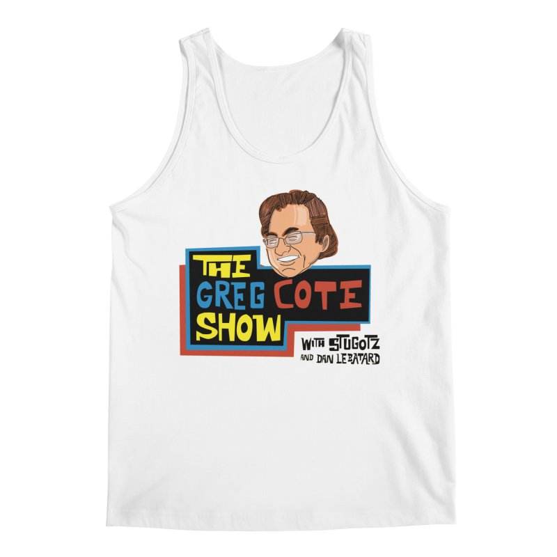 Greg Cote Show Men's Regular Tank by The Official Dan Le Batard Show Merch Store