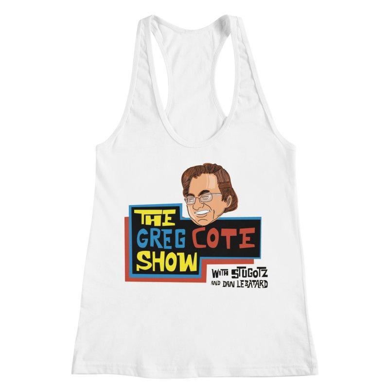 Greg Cote Show Women's Racerback Tank by The Official Dan Le Batard Show Merch Store