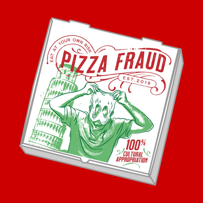 Pizza Fraud Men's Tank by The Official Dan Le Batard Show Merch Store