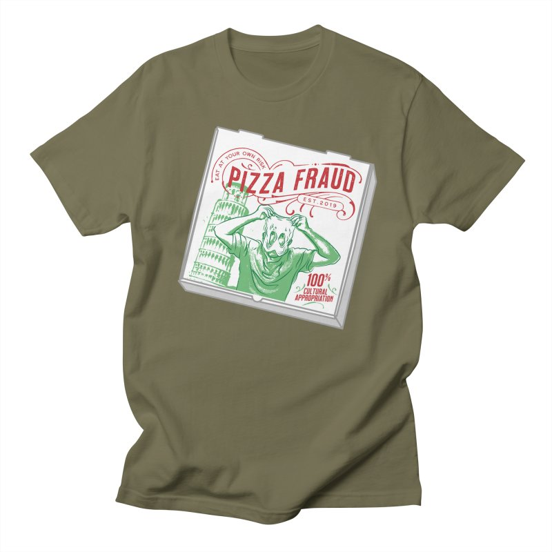 Pizza Fraud Men's T-Shirt by The Official Dan Le Batard Show Merch Store