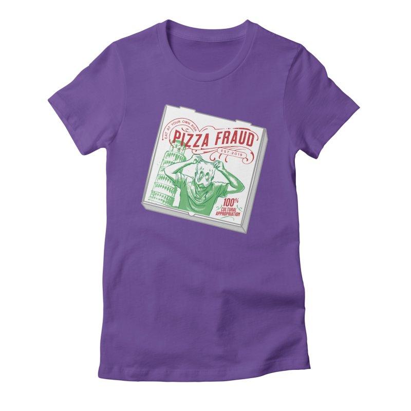 Pizza Fraud Women's T-Shirt by The Official Dan Le Batard Show Merch Store