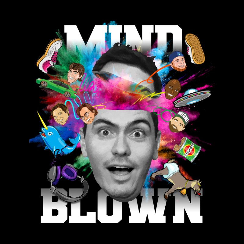 Mind Blown Men's T-Shirt by The Official Dan Le Batard Show Merch Store