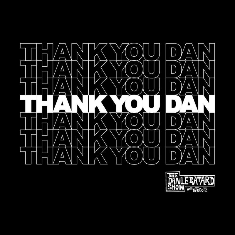 Thank You White Men's Tank by The Official Dan Le Batard Show Merch Store