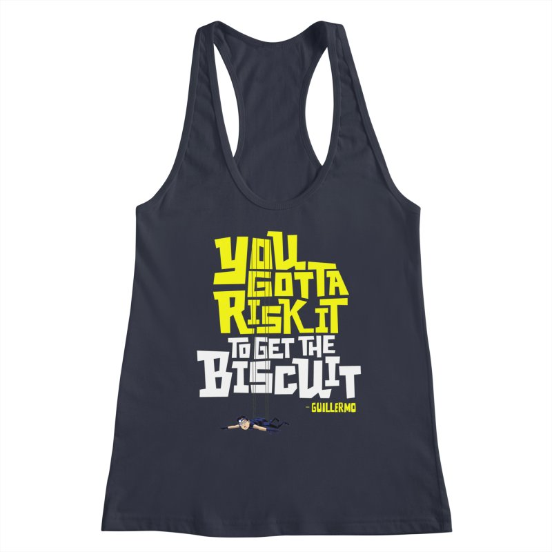 Risk It 2 Women's Tank by The Official Dan Le Batard Show Merch Store