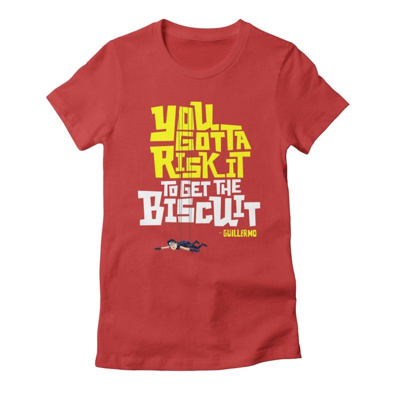 Risk It 2 Women's T-Shirt by The Official Dan Le Batard Show Merch Store