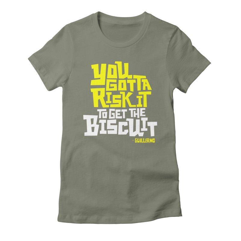 Risk It Women's T-Shirt by The Official Dan Le Batard Show Merch Store