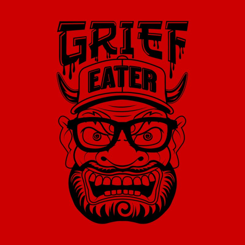 Grief Eater Black & White Men's T-Shirt by The Official Dan Le Batard Show Merch Store