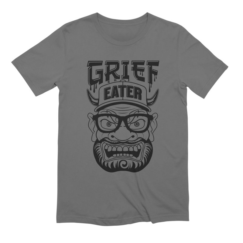 Grief Eater Black & White Men's T-Shirt by The Official Dan Le Batard Show Merch Store