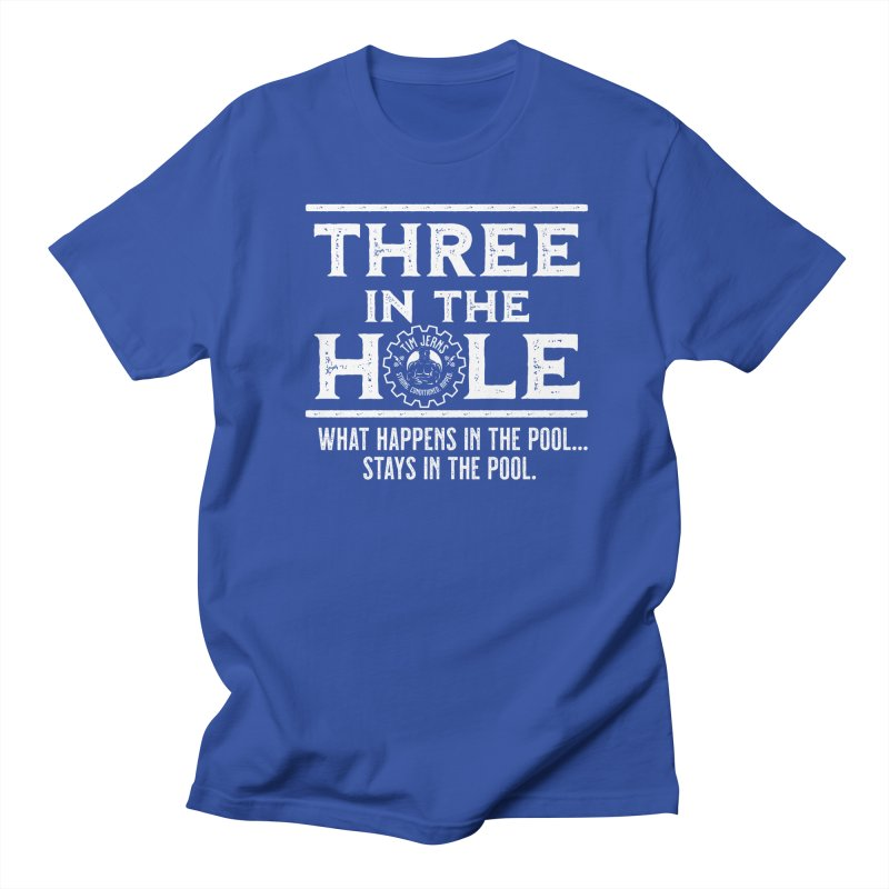 Three in the Hole Men's T-Shirt by The Official Dan Le Batard Show Merch Store