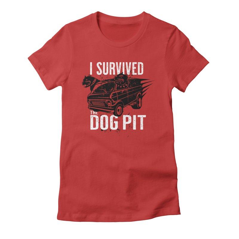 Dog Pit Women's T-Shirt by The Official Dan Le Batard Show Merch Store