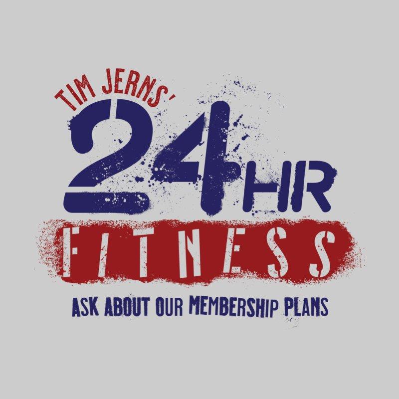 24 Hour Fitness Men's T-Shirt by The Official Dan Le Batard Show Merch Store
