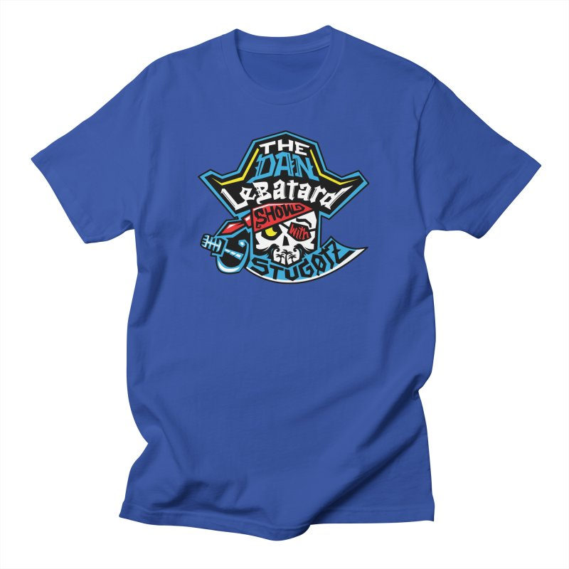 Pirate Head Logo Men's T-Shirt by The Official Dan Le Batard Show Merch Store