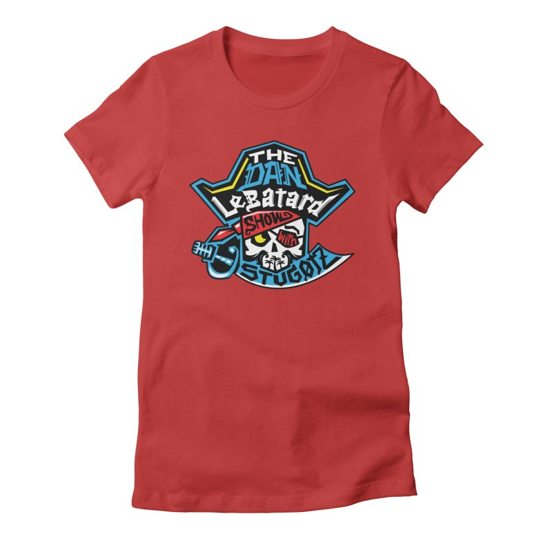 Pirate Head Logo Women's T-Shirt by The Official Dan Le Batard Show Merch Store