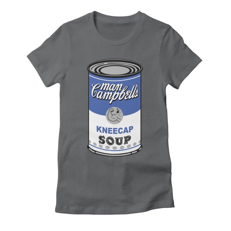Man Campbell's Soup Women's T-Shirt by The Official Dan Le Batard Show Merch Store
