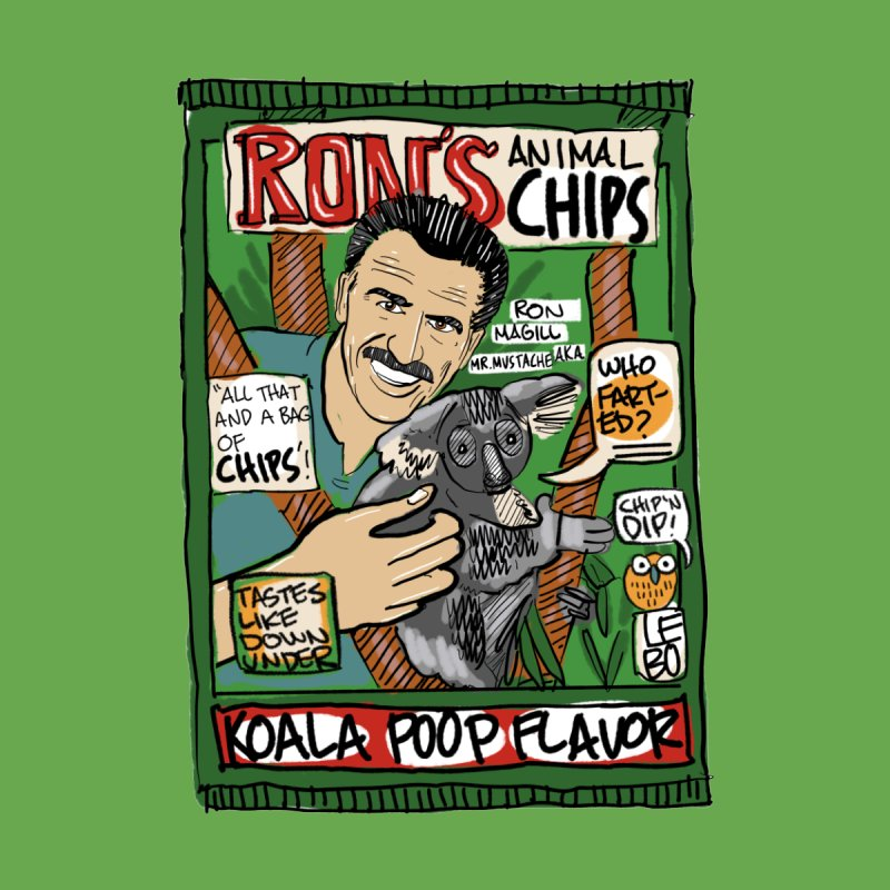 Ron Animal Chips Women's T-Shirt by The Official Dan Le Batard Show Merch Store