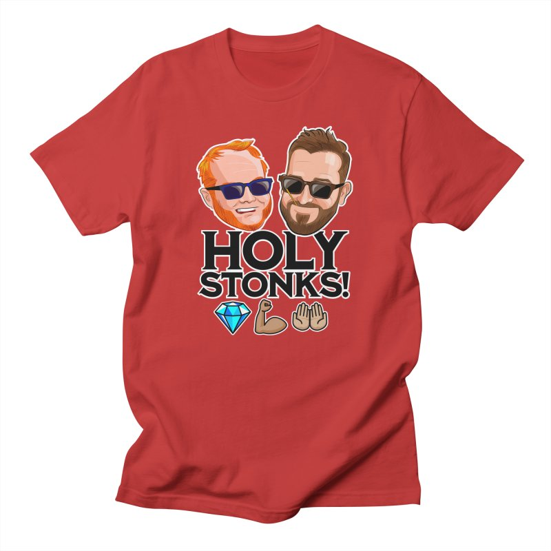 DSH Holy Stonks Men's T-Shirt by The Official Dan Le Batard Show Merch Store