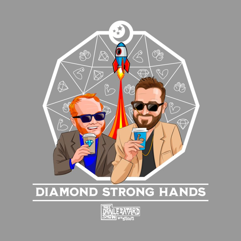 Diamond Strong Hands Icons Men's T-Shirt by The Official Dan Le Batard Show Merch Store