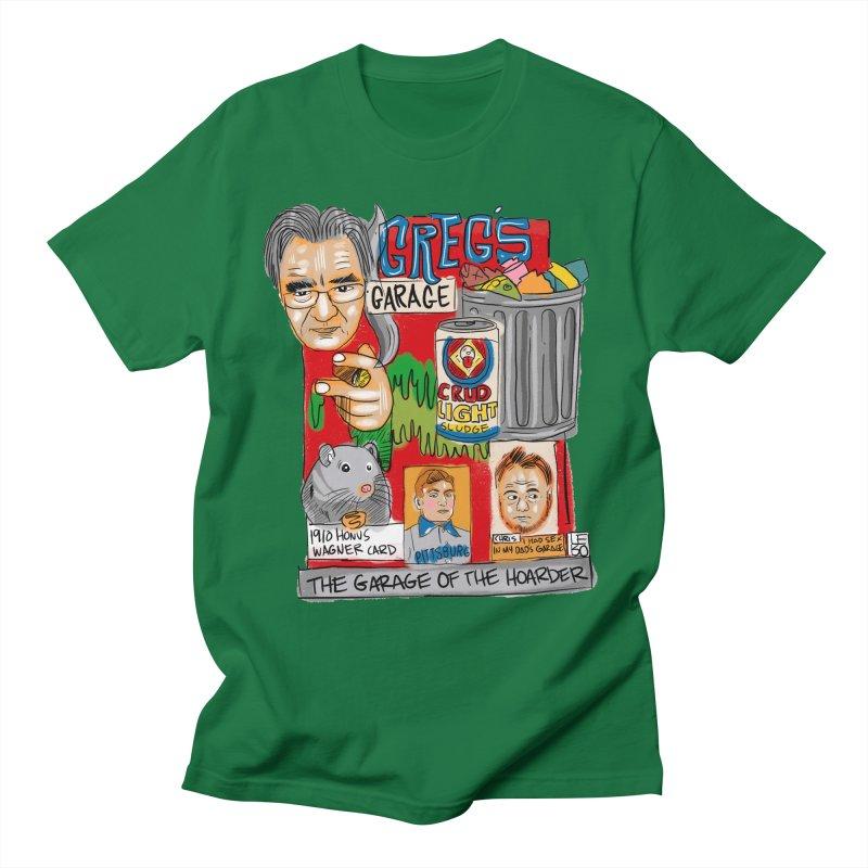 Greg's Garage Men's T-Shirt by The Official Dan Le Batard Show Merch Store