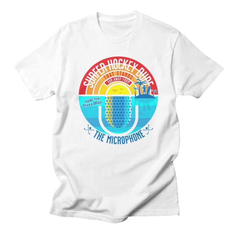 Surfer Hockey Dude Men's T-Shirt by The Official Dan Le Batard Show Merch Store