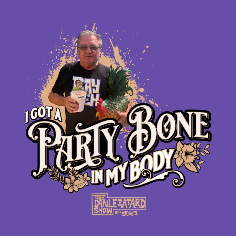 Party Bone Men's T-Shirt by The Official Dan Le Batard Show Merch Store