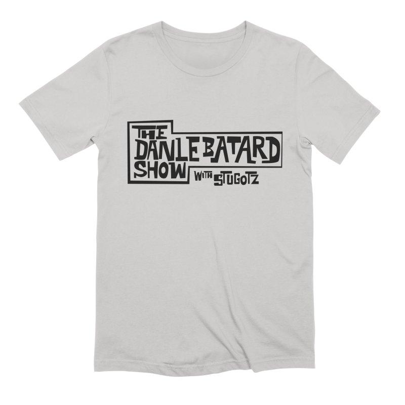 DLS logo black Men's T-Shirt by The Official Dan Le Batard Show Merch Store