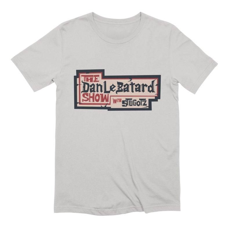 DLS Pirate logo parchment Men's T-Shirt by The Official Dan Le Batard Show Merch Store
