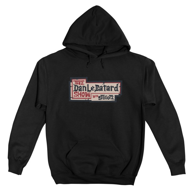 DLS Pirate logo parchment Women's Pullover Hoody by The Official Dan Le Batard Show Merch Store