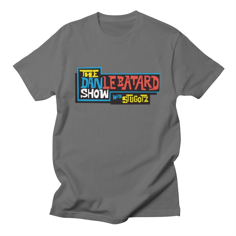 DLS logo color Men's T-Shirt by The Official Dan Le Batard Show Merch Store
