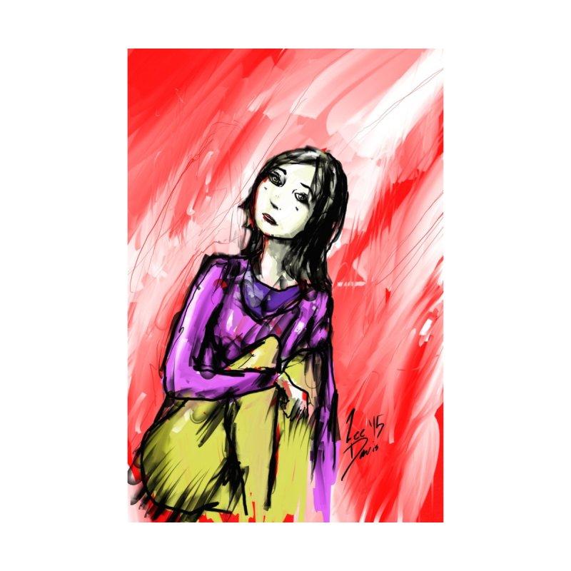 Sitting Woman by Lee Davis's Artist Shop
