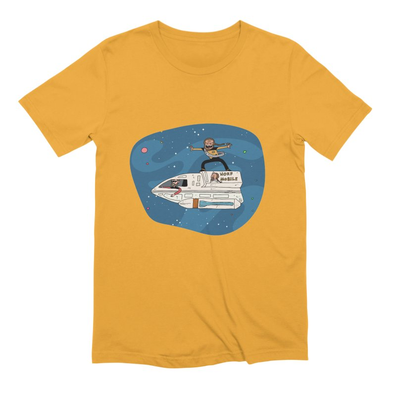 Teen Worf - These waves are mine, Commander. Men's Extra Soft T-Shirt by Lee Draws Stuff