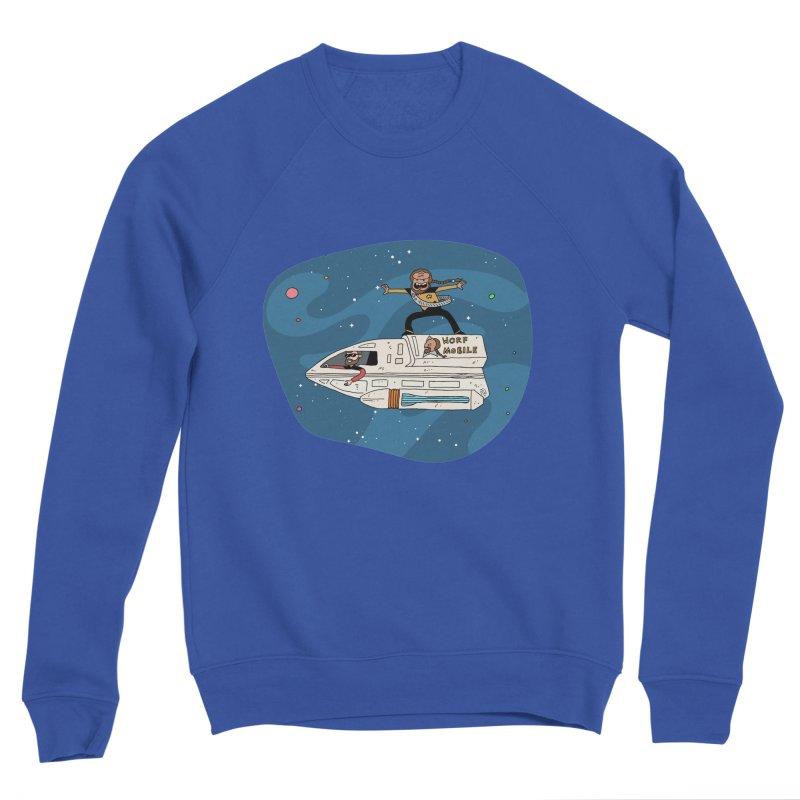 Teen Worf - These waves are mine, Commander. Men's Sweatshirt by Lee Draws Stuff