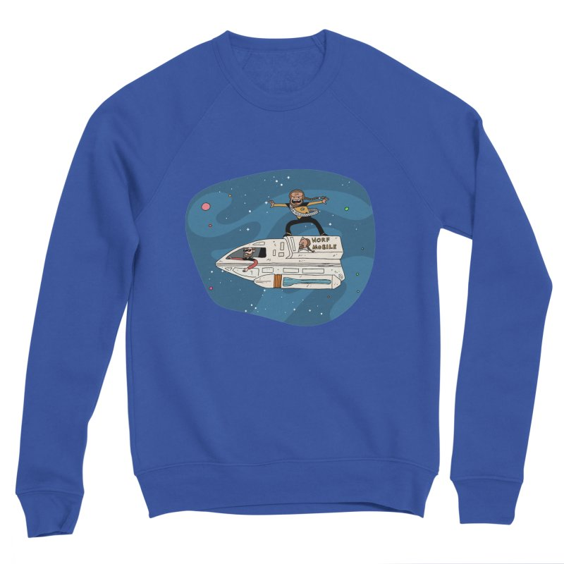 Teen Worf - These waves are mine, Commander. Women's Sweatshirt by Lee Draws Stuff