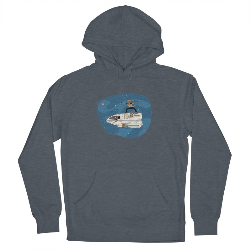Teen Worf - These waves are mine, Commander. Men's Pullover Hoody by Lee Draws Stuff