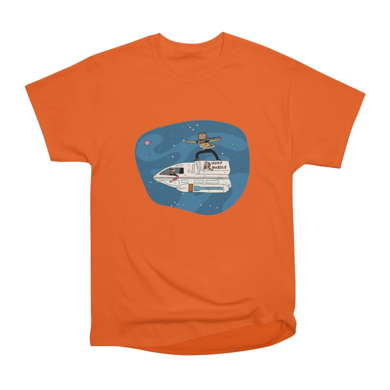 Teen Worf - These waves are mine, Commander. Men's T-Shirt by Lee Draws Stuff