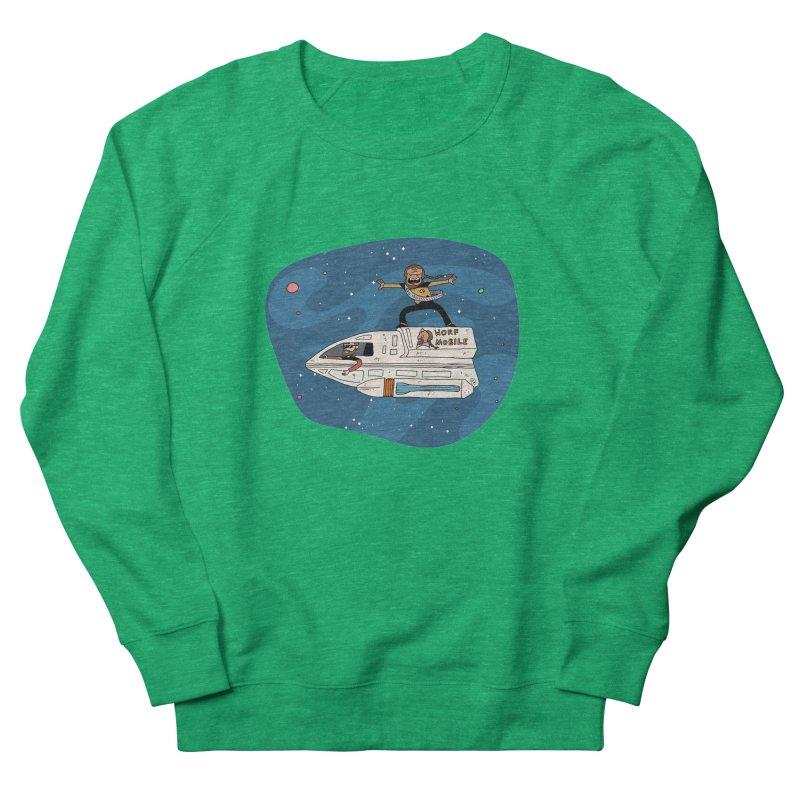 Teen Worf - These waves are mine, Commander. Women's Sweatshirt by Lee Draws Stuff