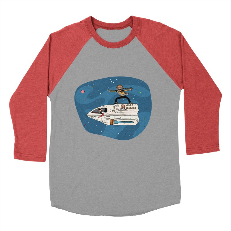 Teen Worf - These waves are mine, Commander. Women's Baseball Triblend Longsleeve T-Shirt by Lee Draws Stuff