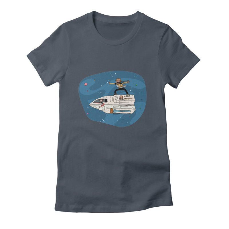 Teen Worf - These waves are mine, Commander. Women's T-Shirt by Lee Draws Stuff
