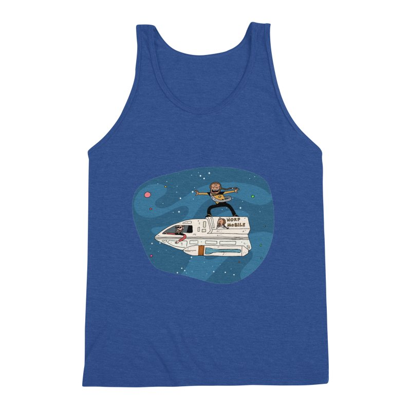 Teen Worf - These waves are mine, Commander. Men's Tank by Lee Draws Stuff