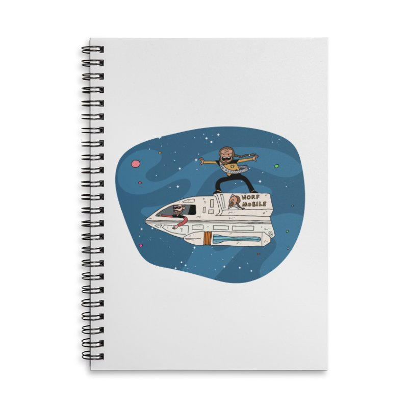 Teen Worf - These waves are mine, Commander. Accessories Notebook by Lee Draws Stuff