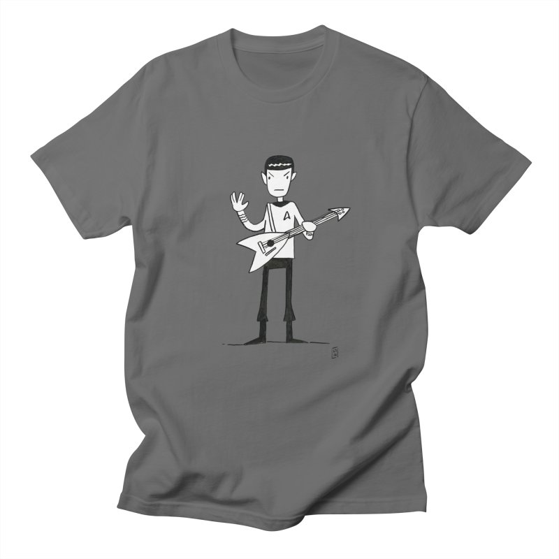 Spock Rocks Men's T-Shirt by Lee Draws Stuff