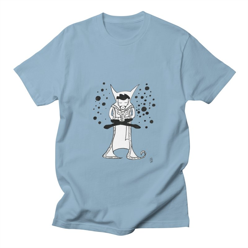 Strange Meditation Men's T-Shirt by Lee Draws Stuff