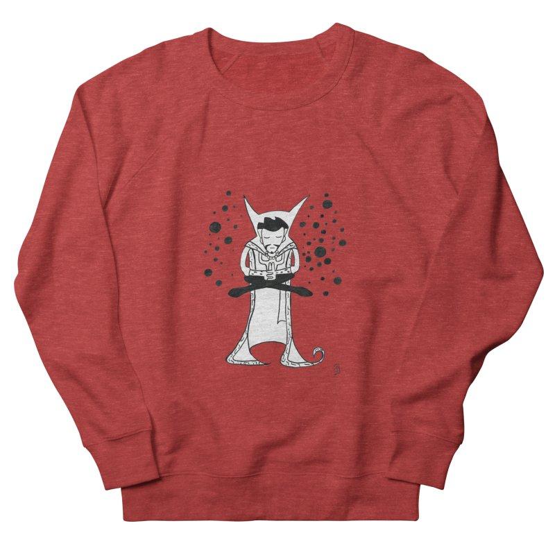 Strange Meditation Women's French Terry Sweatshirt by Lee Draws Stuff