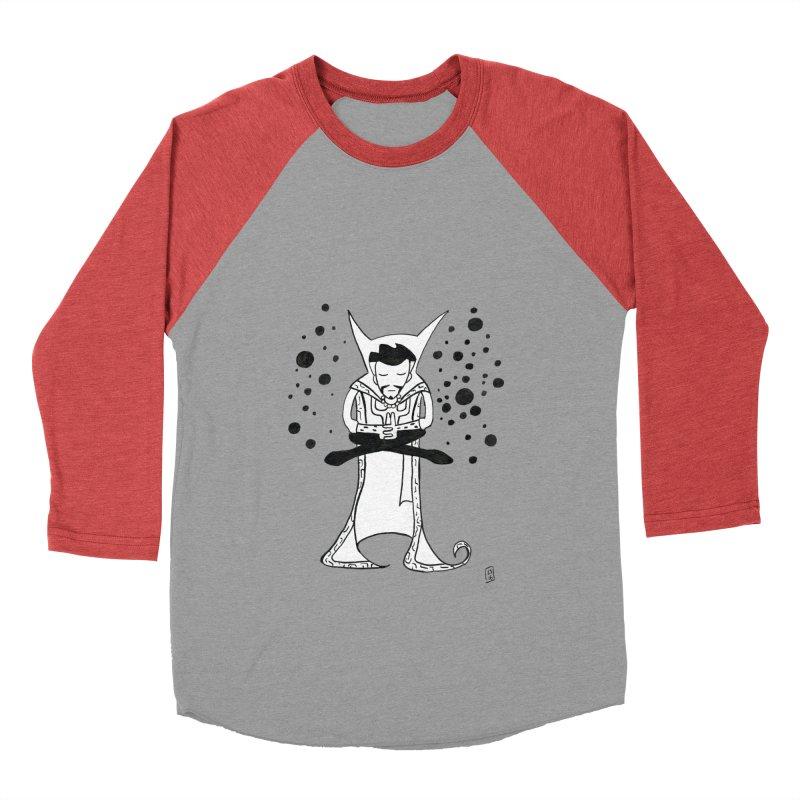 Strange Meditation Women's Baseball Triblend Longsleeve T-Shirt by Lee Draws Stuff