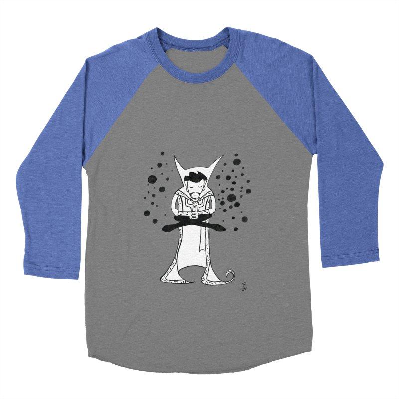 Strange Meditation Men's Baseball Triblend T-Shirt by Lee Draws Stuff