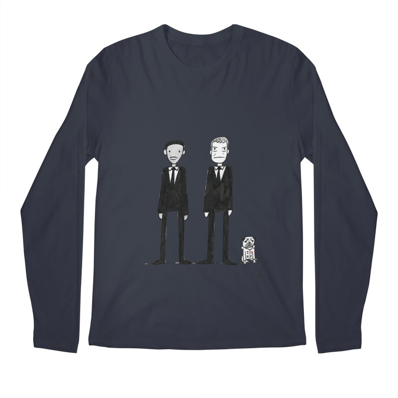 Jay, Kay and Frank Men's Regular Longsleeve T-Shirt by Lee Draws Stuff