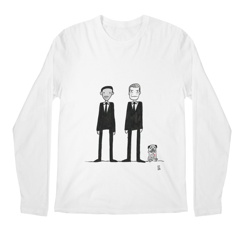 Jay, Kay and Frank Men's Longsleeve T-Shirt by Lee Draws Stuff