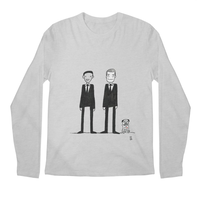 Jay, Kay and Frank Men's Regular Longsleeve T-Shirt by Lee Draws Stuff